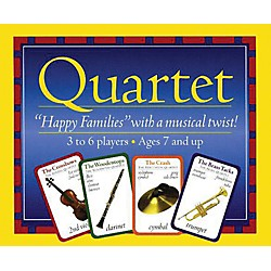 Music Sales Quartet - Instrument Card Game (14026529)
