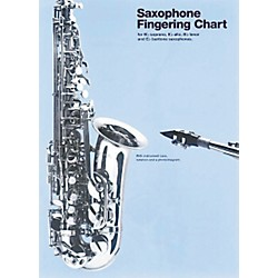 Music Sales Saxophone Fingering Chart (14028844)