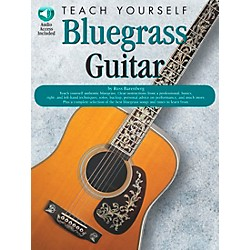 Music Sales Teach Yourself Bluegrass Guitar (Book/CD) (14032983)