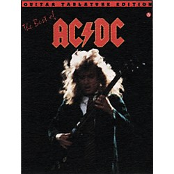 Music Sales The Best of AC/DC Guitar Tab Book (14001043)