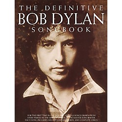 Music Sales The Definitive Bob Dylan Piano, Vocal, Guitar Songbook (14033233)