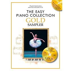 Music Sales The Easy Piano Collection Gold Sampler Book/CD (14042029)