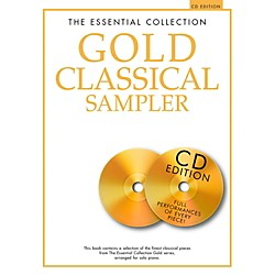 Music Sales The Essential Collection - Gold Classical Sampler For Piano Solo Book/2CDs (14042136)