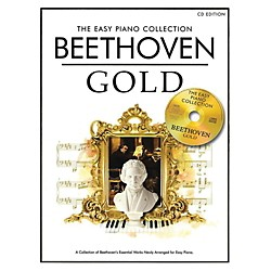 Music Sales The Essential Collection Beethoven Easy Piano Gold Book/CD (14042756)