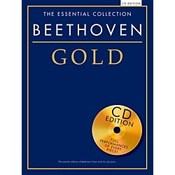 Music Sales The Essential Collection Beethoven Gold Book/CD (14042306)