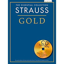Music Sales The Essential Collection Strauss Gold (Book/CD) (14042352)