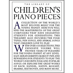 Music Sales The Library Of Children's Piano Pieces (14019019)