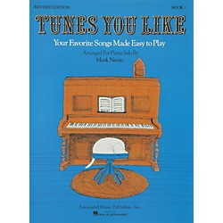 Music Sales Tunes You Like Book 1 - Favorite Songs Made Easy Piano Solos Revised Edition By Nevin (50004300)