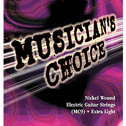Musician's Choice Buy 2 Get 10 Free Extra Light Electric Guitar Strings (MC9)