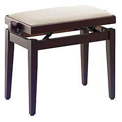 Musician's Gear Adjustable-Height Piano Bench (PB40 RWM VBE)