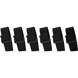 Musician's Gear Cinch Style Cable Straps (6 Pack) (MGCSC)