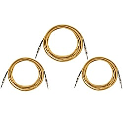 Musician's Gear Instrument Cable 3 Pack (INS CBL 18.5 BLK/TWD-3PK)