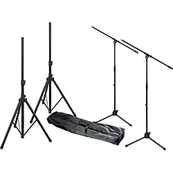 Musician's Gear MG280 PA Sound System Stand Kit (MG280 KIT)