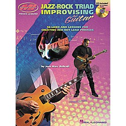 Musicians Institute Jazz-Rock Triad Improvising for Guitar (Book/CD) (695361)
