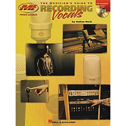Musicians Institute The Musician's Guide to Recording Vocals (Book/CD) (695626)