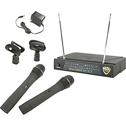 Nady Encore DUET WHT Handheld Wireless System (USED004000 3001-54)