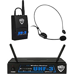 Nady UHF-3 Headset HM-3 Wireless System (USED004000 10423-40)