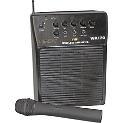 Nady WA-120 Portable PA System with Wireless Handheld Mic (USED004000 12015-11)