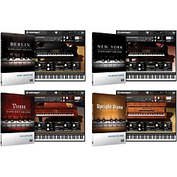 Native Instruments Acoustic Pianos Bundle (NIPIANOKIT)