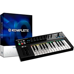 Native Instruments Komplete 10 And Kontrol S25 Keyboard Bundle (NIKIT7)