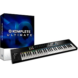 Native Instruments Komplete 10 Ultimate And Kontrol S61 Keyboard Bundle (NIKIT10)