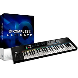 Native Instruments Komplete 10 Ultimate Crg And Kontrol S49 Keyboard Bundle (NIKIT6)