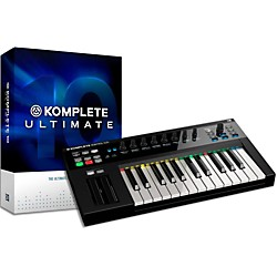 Native Instruments Komplete 10 Ultimate With Kontrol S25 Keyboard Bundle (NIKIT9)