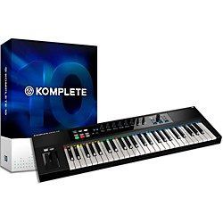 Native Instruments Komplete 10 and Kontrol S49 Keyboard Bundle (NIKIT1)