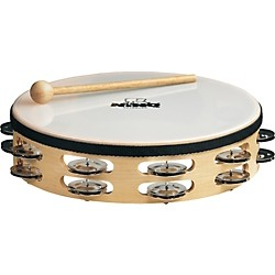 Nino Wood Double Row Tambourine (NINO26)