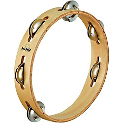 Nino Wood Tambourine 1 Row (NINO46)