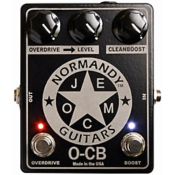 Normandy O-CB Overdrive-Clean Boost Guitar Effects Pedal (O-CB)
