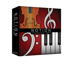 Notion 4 Music Notation Software (Notion 4.0)