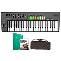 Novation Launchkey 49 Keyboard Controller Package 1 (NOVLK49CP1)