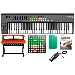 Novation Launchkey 61 Keyboard Controller Package 2 (Novation LK61 KCP2)