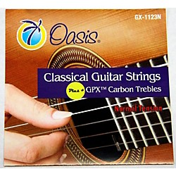 Oasis GPX+ Classical Guitar Carbon Trebles Normal Tension (GX-1123 NT)