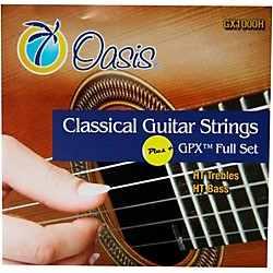 Oasis GPX+ Classical Guitar High Tension GPX Carbon Trebles/High Tension Sostenuto Basses (GX-1000H)