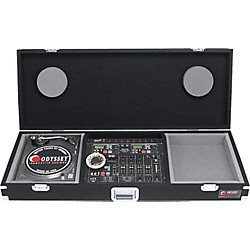 "Odyssey Carpeted Battle Mix Console For (1) 19"" Mixer And (2) Turntables (CBM19)"