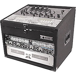 Odyssey Carpeted Combo Mixer Rack Case (CXC904)