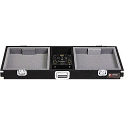 "Odyssey Carpeted DJ Console For (1) 10"" Mixer And (2) Turntables (CDJ10)"