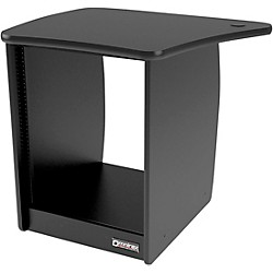 Omnirax OM13L 13-Rackspace Cabinet for the Left Side of the OmniDesk - Black (OM13L-B)