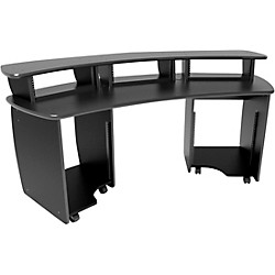 Omnirax OMNIDesk Audio/Video Editing Workstation - Black (OMNI-B)