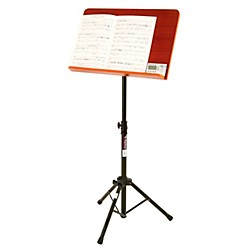On-Stage Stands Conductor Stand with Wide Wooden Bookplate (90935)