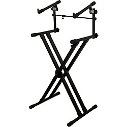 On-Stage Stands Deluxe Heavy Duty X 2-Tier Keyboard Stand (KIT772838)