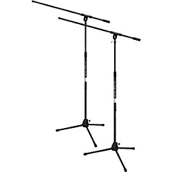 On-Stage Stands Tripod Mic Stand With Boom Buy One Get One Free (KIT788830)