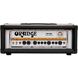 Orange Amplifiers Crush Pro CR120H 120W Guitar Amp Head (CR120H BLK)