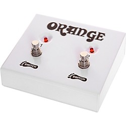 Orange Amplifiers FS-2 2-Button Dual Guitar Footswitch (FTSWCH-Dual)