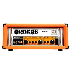 Orange Amplifiers OR100 100W Dual Channel Tube Guitar Head (OR100)