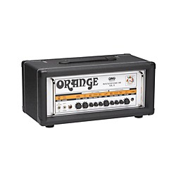 Orange Amplifiers Rockerverb RK100H MKII 100W DIVO Fitted Tube Guitar Amp Head (RK100H MKII DIVO Black)