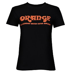 Orange Amplifiers Women's Classic T-Shirt (Womens Shirt Retro Medium)