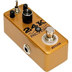 Outlaw Effects 24K Guitar Reverb Pedal (24K)